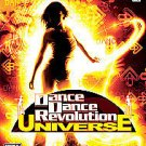 DANCE DANCE REVOLUTION UNIVERSE Xbox 360 DISC MANUAL ART & CASE GOOD TO NRMNT