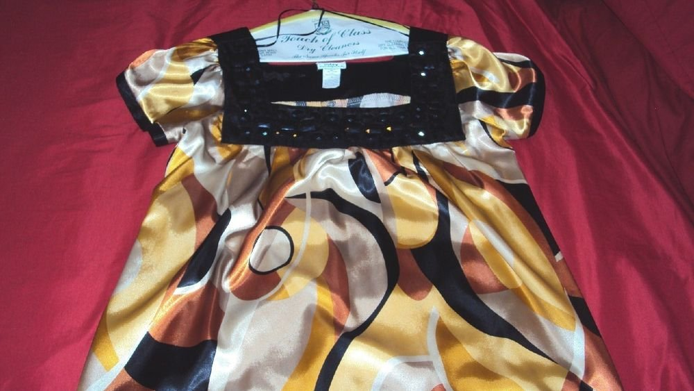 WOMENS CDW CREATIVE DESIGN WORKS TOP BLOUSE GREAT CONDITION ONE OWNER