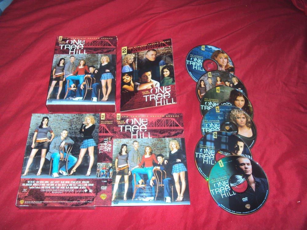 ONE TREE HILL THE COMPLETE SECOND SEASON 2 DVD 6 DISCS BOX ART INSERT & ART CASE