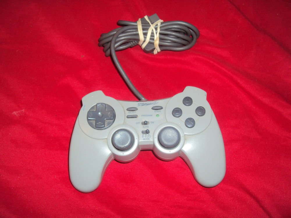 PLAYSTATION PS1 PROGRAMMABLE CONTROLLER INTERACT BARRACUDA 2 SV-1133 VG CONDITON