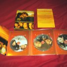 DAWSON'S CREEK FIRST SEASON 1 DVD 3 DISCS BOX ART INSERT & DISC CASE VG TO GOOD