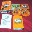 SIMS SUPERSTAR Expansion Pack PC DISCS CD CASE ART MANUAL INSERT & BOX ART