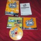 SIMS VACATION Expansion PC DISC GUIDE CD CASE & ART NRMNT / MINT BOX ART VG