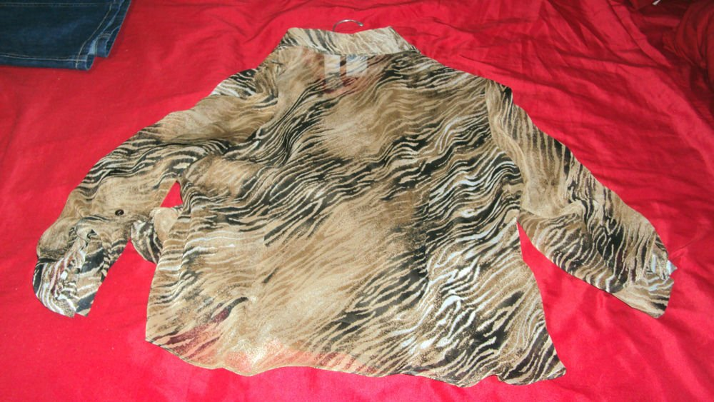 EMMA JAMES BLOUSE TOP SIZE 12 FULLY LINED PETITE NICE CONDITION ONE OWNER