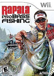 Wii RAPALA PRO BASS FISHING NEW & FACTORY Y-FOLD SEALED SHIPS SAME DAY OR NEXT