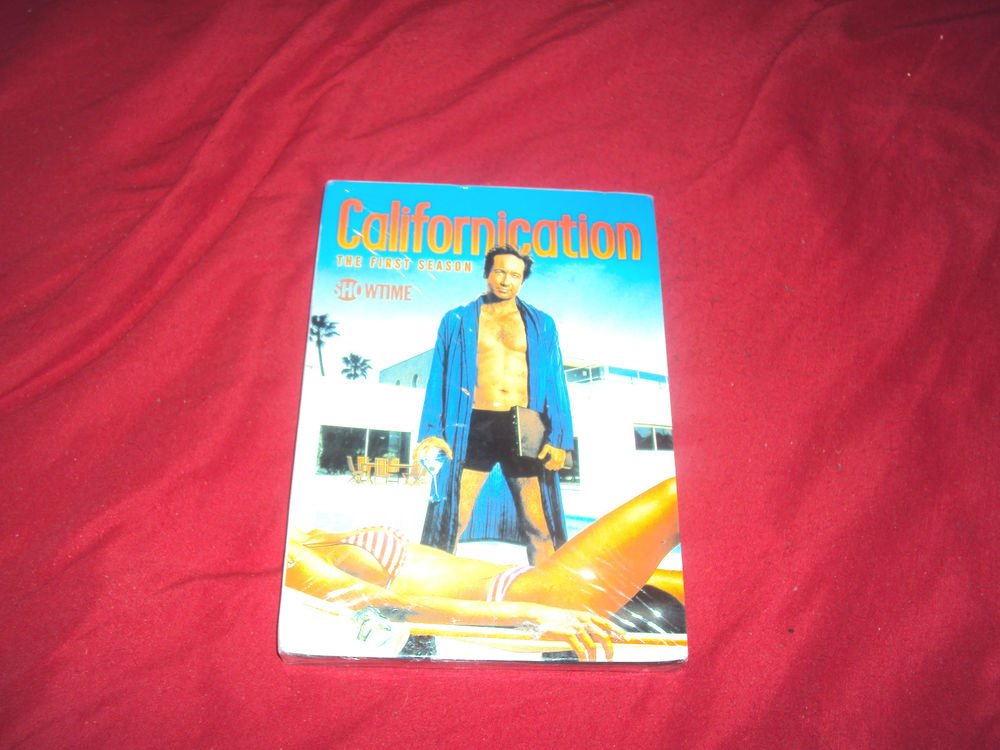 CALIFORNICATION THE FIRST COMPLETE SEASON 1  Multi-disc DVD Set NEW & SEALED