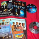 ASUNDER + THE KINGDOM COMEDY TOUR DVD DISCS ART & CASES MINT TO NEAR MINT