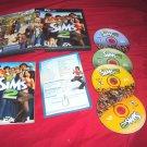 SIMS 2 PC DISCS MANUAL KEY COM CARD ART & CASE VERY GOOD TO NEAR MINT HAS CODE