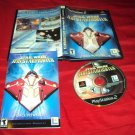 STAR WARS JEDI STARFIGHTER PlayStation 2 PS2 *** PS3 DISC MANUAL ART & CASE VG