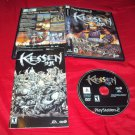 KESSEN PlayStation 2 PS2 *** PS3 DISC MANUAL ART & CASE GOOD TO VERY GOOD