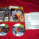 BATLEFIELD 3 PREMIUM EDITION Xbox 360 DISCS INSERTS ART & CASE NEAR MINT