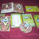 The Sims 3 PC & MAC DVD DISC MANUAL KEY COMMAND GUIDE STICKERS INSERT ART & CASE