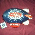 SUPER BOWLl XXXIV  Memorabilia Blimp 2000 Atlanta GA NEW WITH TAGS NFL LICENSED