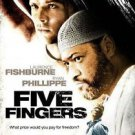 FIVE FINGERS DVD FISHBURNE PHILLIPPE NEW & SEALED SHIPS SAME DAY OR NEXT