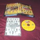 Sims 2 H&M FASHION STUFF PC DISC MANUAL ART & CASE GOOD TO VERY GOOD HAS CODE