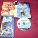 FINAL FANTASY X PlayStation 2  PS2 *** PS3 DISC MANUAL ART & CASE NRMNT TO VG