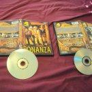 BONANZA Volume 1 & 2 DVD DUAL SIDE DISCS ART & CASES 8 EPISODES VG CONDITION
