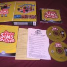 The Sims ONLINE PC DISCS MANUAL INSERTS BOX ART CD CASE & ART VG TO NEAR MINT
