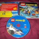 LEGO Racers 2 PC DISC MANUAL ART & CD CASE VG TO NRMNT SHIP SAME DAY OR NEXT