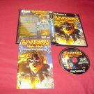 WARRIORS Of MIGHT and MAGIC PS2  *** PS3  DISC MANUAL ART & CASE NEAR MINT