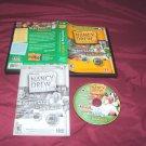 Nancy Drew Dossier RESORTING TO DANGER! PC DISC MANUAL ART & CASE GOOD TO NRMNT