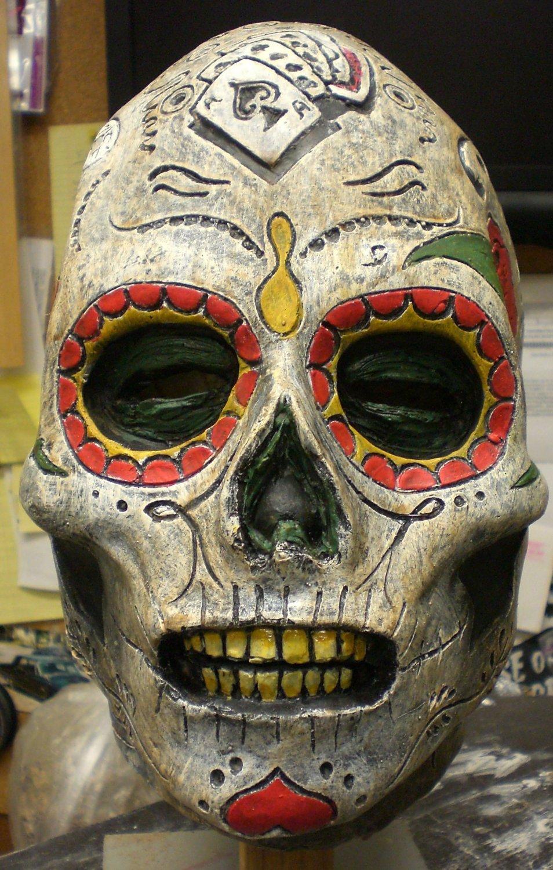Day Of The Dead Dia Des Los Muertos Skull Zombie Undead
