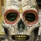 Day of the Dead Dia Des Los Muertos Skull Zombie Undead Walking Dead Creature Scary Halloween Mask