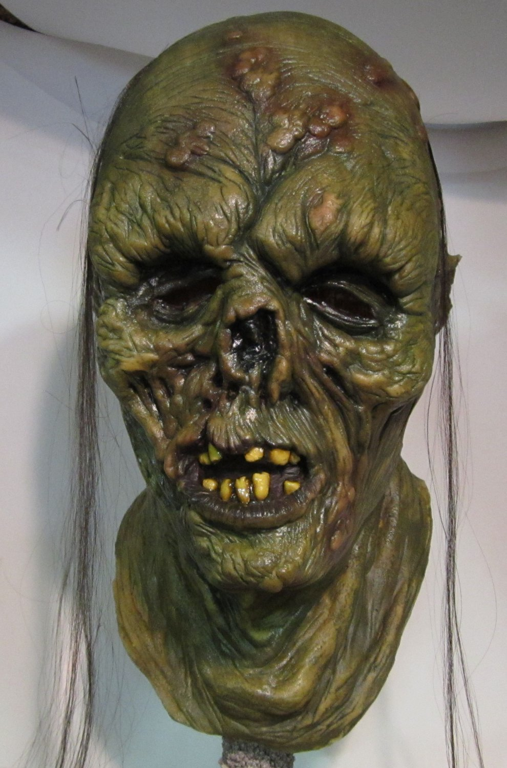 Decayed Flesh Rotting Corpse Zombie Undead Walking Dead Creature Scary Halloween Mask