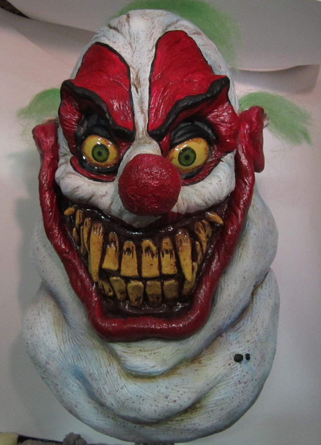 Sloppy the Clown of Death Nightmare Carnival Monster Scary Halloween Mask