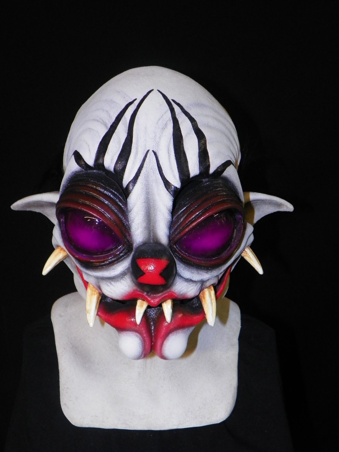 Black Widow Spider-Man Clown of Death Fanged Monster Nightmare Carnival Scary Halloween Mask