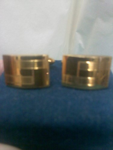 La Mode vintage gold cuff links in 1/20 10K G.F.