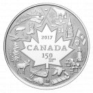 CANADIAN PURE SILVER COIN HEART OF OUR NATION