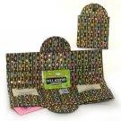Batik Chains Tea Wallet - Tea Carrier - Thistledown, USA