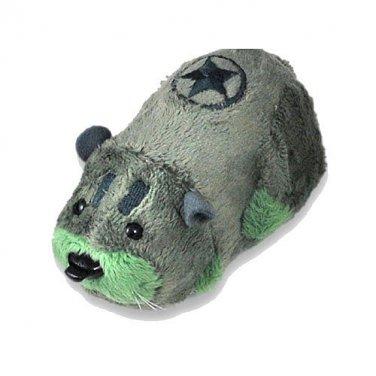 Kung Zhu Battle Hamster-Rivit-Cepia #88005