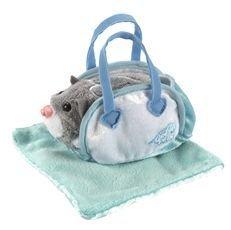 Zhu Zhu Pets-Pet Carrier & Blanket-Aqua #86647
