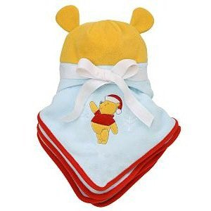 Winnie the Pooh Holiday Stroller Blanket and Hat Set from Disney