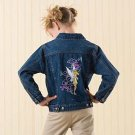 Disney Tinker Bell Fairies Denim Jacket size XS (4)