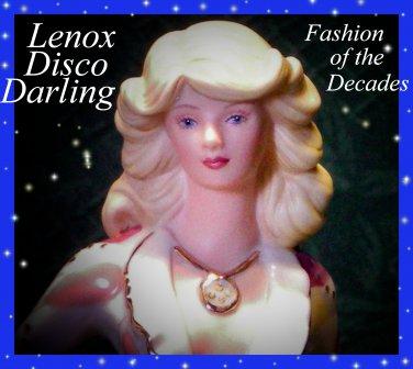 Lenox Disco Darling Figurine, Fashion of the Decades Figurine-COA