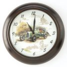 Open Road Antique Car Clock