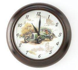 Open Road Antique Car Clock