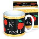A+ Teacher Ceramic Mug
