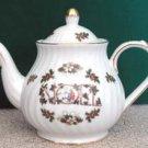 Christmas Noel 6 Cup Swirl Teapot - Fielder Keepsakes