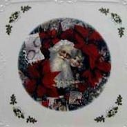 Christmas Santa 8 Cup Square Holiday Teapot - Fielder Keepsakes