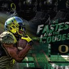 Oregon Ducks Fastest and Loudest Poster