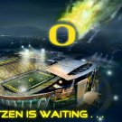 Oregon Ducks Autzen Is Waiting Poster
