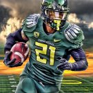 Oregon Ducks Sunset Poster