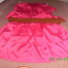 LILY ROSE TUBE TOP DRESS SIZE M HOT PINK