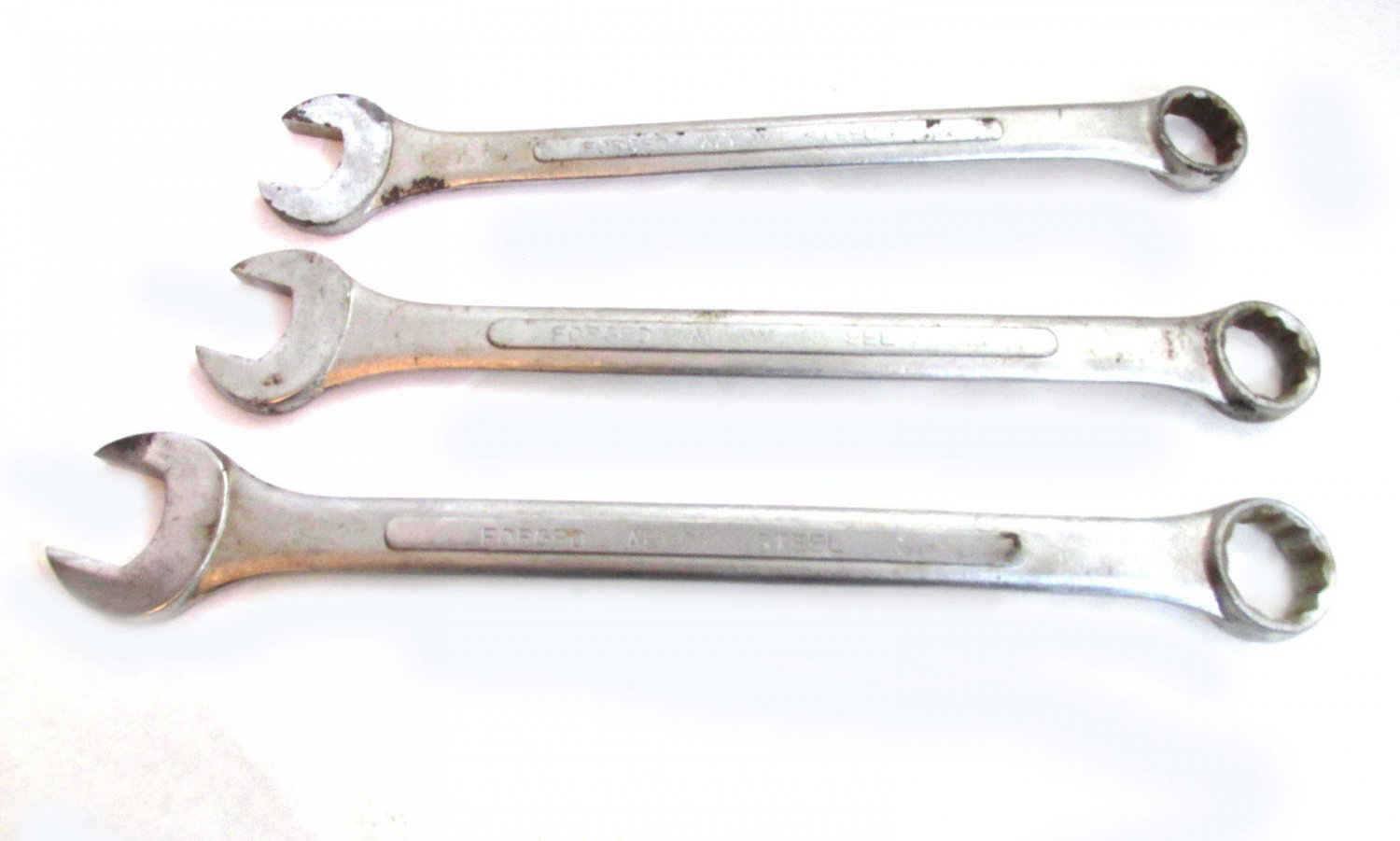 Great Neck Three Combo Wrenches USED