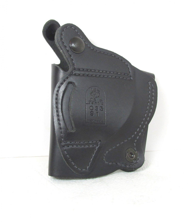 Desantis Black Leather Holster 033 S1 Unused