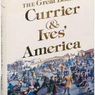 LIKE NEW*THE GREAT BOOK OF CURRIER & IVES AMERICA*FIRST ED*979*WALTON RAWLS*400 LITHOGRAPHS*